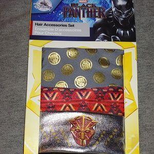 Marvel's Black Panters Girl's 3 pk headband set